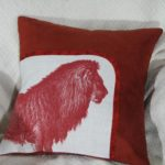 Red Lion Pillow